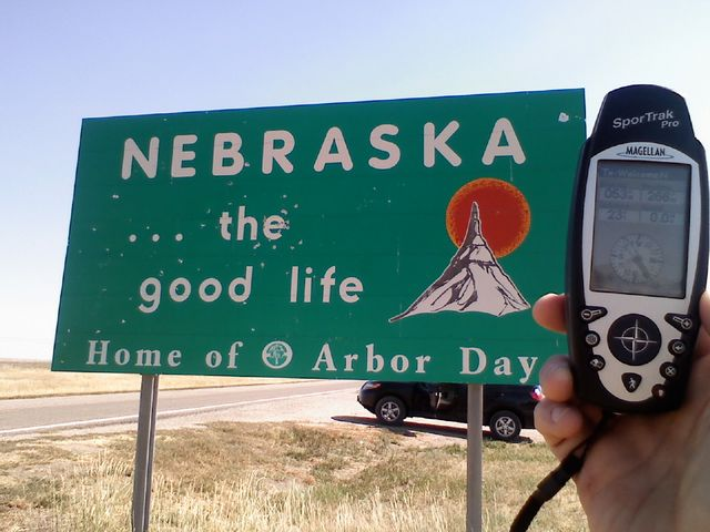 Husker Caveman Signs : Welcome to nebraska cache listing opencaching north