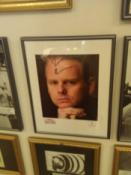 Nik Wallenda autographed photo, 2012