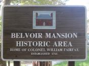 Belvoir Mansion Historic Area