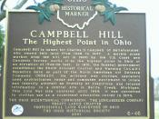 Historical marker near the High Point