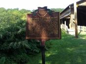 Ohio Historical Marker for Bridge