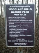 Woodland Hills Park Regulations