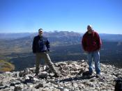 Zach and I at the Top!