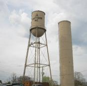 Carthage old Water Towers