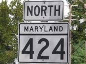MD 424 North