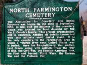 North Farmington Cemetery History